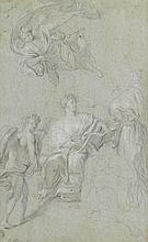 ANTON RAPHAEL MENGS, (GERMAN 1728-1779), STUDY FOR THE TRIUMPH OF HISTORY OVER TIME