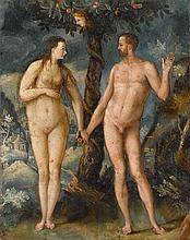 FLEMISH SCHOOL, (16TH CENTURY), ADAM AND EVE