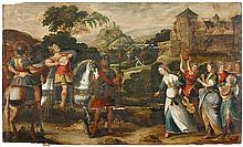 CIRCLE OF FRANS FLORIS THE ELDER, (FLEMISH C. 1519-1570), JEPHTHAH KEEPS HIS VOW TO JEHOVAH