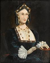 MANNER OF LUCAS HORENBOUT, (BRITISH C. 1490-1544), ANNE BOLEYN