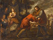 CIRCLE OF OTTAVIO VANNINI, (ITALIAN 1585-1643), CHRIST HEALING THE BLIND