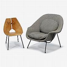 Eero Saarinen (1910 1961), Womb Chair, Knoll International, Circa 1970s