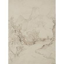 "THOMAS UWINS, (BRITISH, 1782–1857), ""PAST THE PASS OF SAN ANGELO"""
