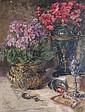 HUGO MIETH, (1865), STILL LIFE ON TABLETOP