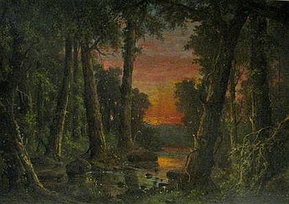 GABRIEL HARRISON, (AMERICAN 1818-1902), LANDSCAPE
