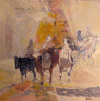 JOEL DABIN, (FRENCH B. 1933),