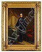 MOSES WIGHT, (AMERICAN 1827-1895), PORTRAIT OF A GENTLEMAN, SAID TO BE FREDERICK W. LINCOLN, Moses Wight, Click for value