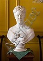 James Henry Haseltine (American 1833-1907), white marble bust of a woman, Signed 'J.H. Haseltine, Rome 18'., James Henry Haseltine, Click for value