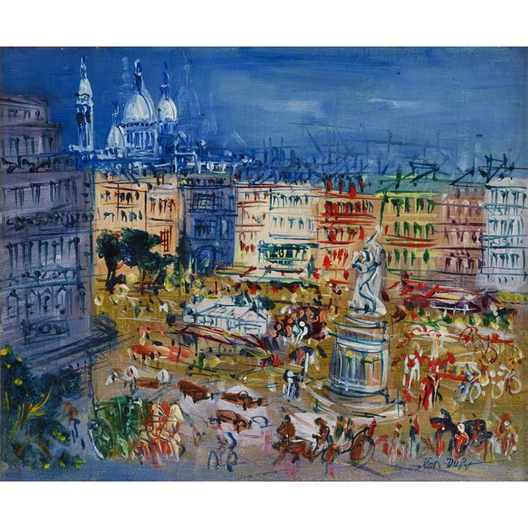 JEAN DUFY, (FRENCH 1888-1964),