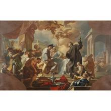 GIACINTO DIANO, (ITALIAN 1730–1803), SCENE FROM THE LIFE OF SAINT BENEDICT