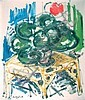 PAUL ENGLAND, (AMERICAN, 1918 - 1988), STILL LIFE WITH PLANT, Paul Grady England, Click for value