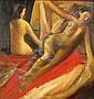 REMO FARRUGGIO, (AMERICAN, 1904-1981), TWO NUDES, Remo Michael Farruggio, Click for value