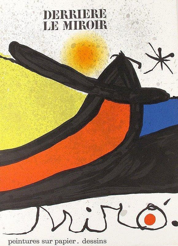 3 vols derriere le miroir miro paris 1965 67 71 orig for Miro derriere le miroir
