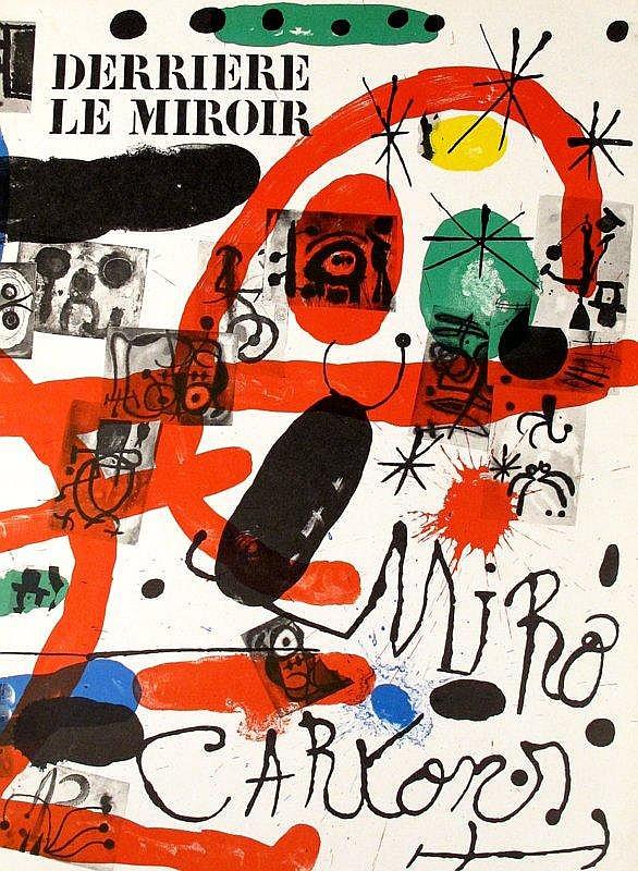 3 vols derriere le miroir miro paris 1965 67 71 orig for Le miroir 71