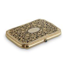 A fourteen karat yellow gold case,