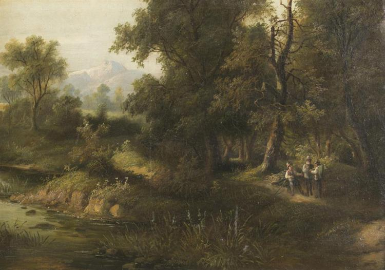 EUROPEAN SCHOOL, LATE 19TH/EARLY 20TH CENTURY, LANDSCAPE