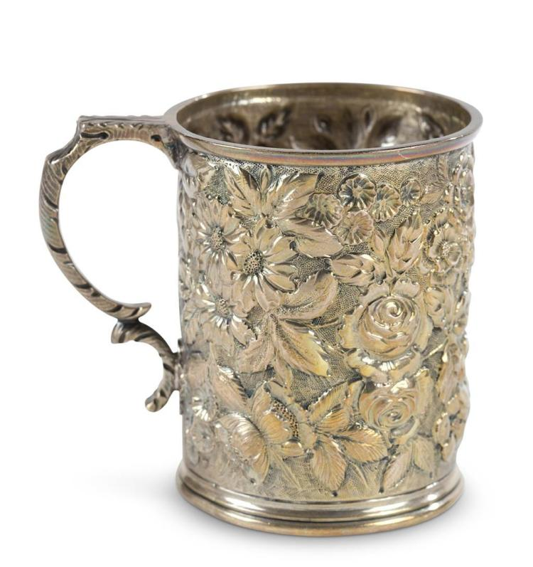 A sterling silver cup, a. jacobi & co., baltimore, md, 1879-1890