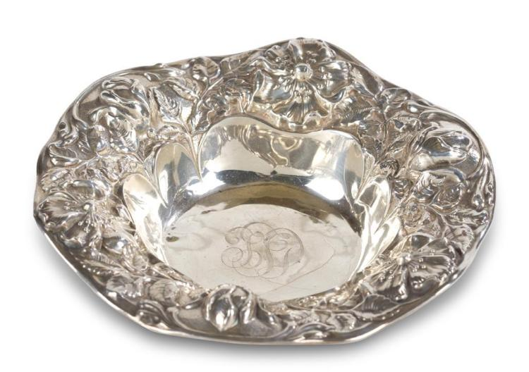 A sterling silver bowl, gorham, providence, ri, 20th century