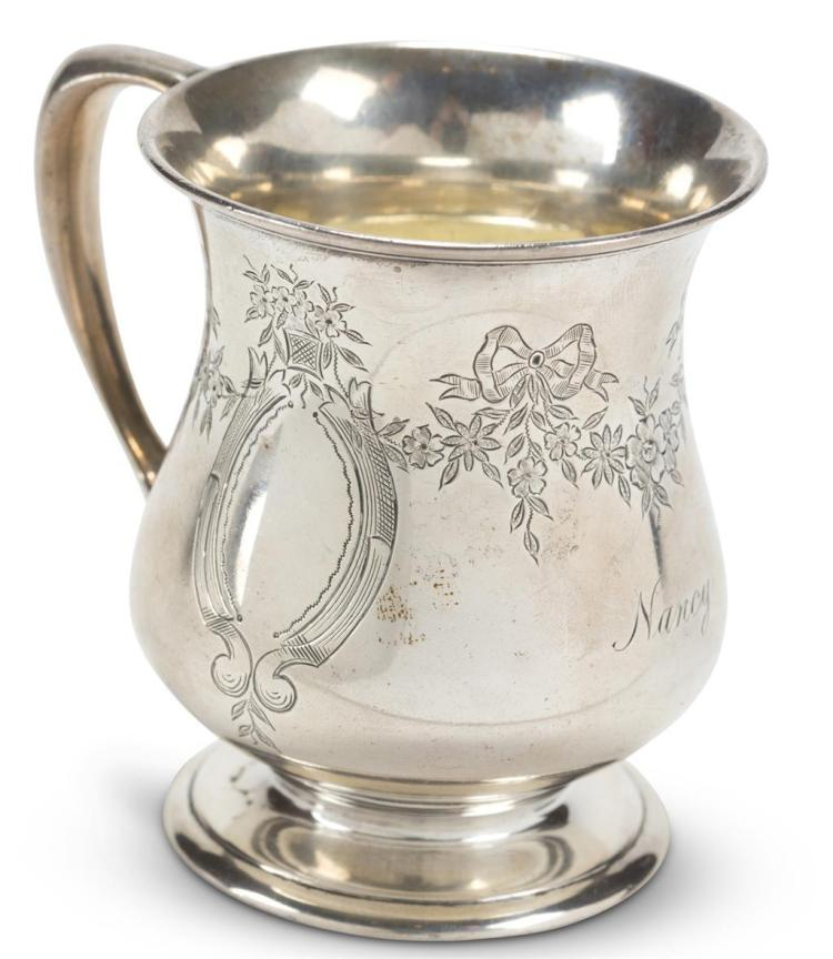 A sterling silver child''s cup, tiffany & co., new york, ny, early 20th century