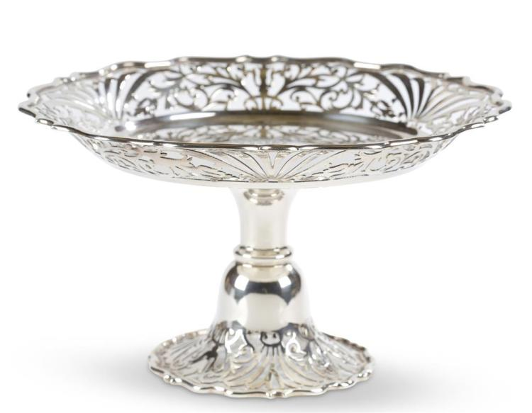 A sterling silver tazza, charles clement pilling, london, 1902