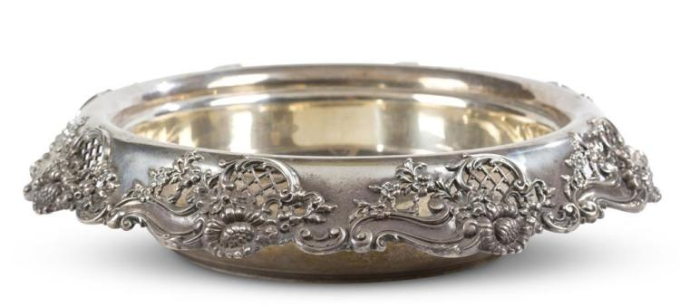 A sterling silver centerpiece, black, starr & frost, new york, ny, late 19th / early 20th century