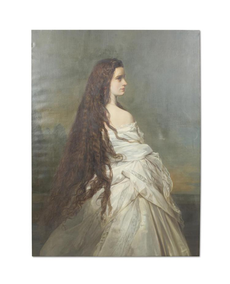 AFTER FRANZ XAVER WINTERHALTER, LATE 19TH / EARLY 20TH CENTURY, THE EMPRESS ELISABETH OF AUSTRIA