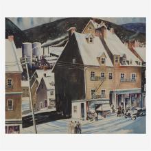 John R. Grabach (1886-1981), New England Village Scene