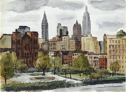 MAX ARTHUR COHN, (AMERICAN, 1903-1998),