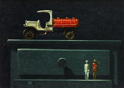 KEN DAVIES, (AMERICAN, B. 1925),