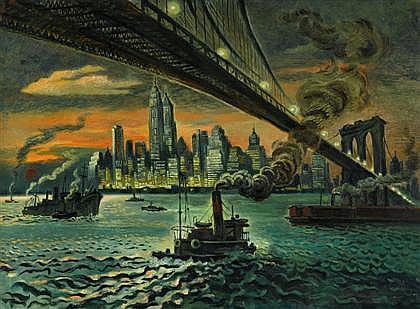 GEORGES SCHREIBER, (AMERICAN, 1904-1977),