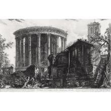 (Architecture) 5 Pieces. Engravings. Piranesi, Giovanni Batista. [Vedute di Roma]: