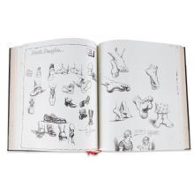 (Comic Art) 5 Vols. Crumb, R(obert). Sketchbook: 1966-1967. (Frankfurt): Zweitausendeins, (1990). Third edition. 4to, original orang...