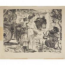 (Graphic Art) 1 Piece. Lithograph. Corinth, Louis (German, 1858-1925).