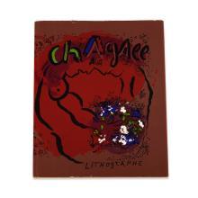 (Modern Art : Livres d''Artistes) 1 Vol. (Chagall, Marc.) The Lithographs of Chagall. New York: George Braziller, (1960). First Ameri..