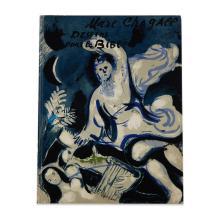 (Modern Art : Livres d''Artistes) 1 Vol. Chagall, Marc. Dessins pour la Bible. Paris, 1960. Verve nos. 37/38. Folio, original color l..