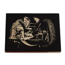 (Modern Art : Livres d''Artistes) 1 Vol. (Picasso, Pablo). Sabartes, Jaime. Picasso Toreros. New York: George Braziller, (1961). Smal..