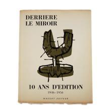 (Modern Art : Periodicals) 1 Vol. (wrappers). Derrière le Miroir.
