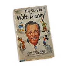(Performing Arts & Music) 1 Vol. Miller, Diane Disney. The Story of Walt Disney. New York: Henry Holt, (1957). First edition. 12mo,...