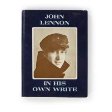 (Performing Arts & Music) 1 Vol. Lennon, John. In His Own Write. London: Jonathan Cape, (1964). Fourth printing. 12mo, original pict...
