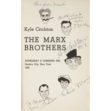 (Performing Arts & Music) 1 Vol. Crichton, Kyle. The Marx Brothers. Garden City: Doubleday & Company, 1950. First edition. 8vo, orig...