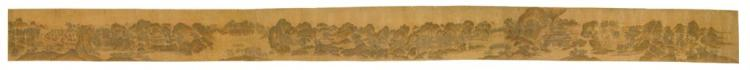 ATTRIBUTED TO LIU SONGNIAN, EARLY QING DYNASTY, after the painting wangchuan villa by wang wei  Property formerly from the Diabutsu...