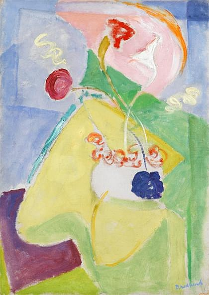QUITA BRODHEAD, (AMERICAN, 1901-2002), FLORAL STILL LIFE