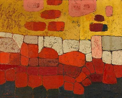 GEORGE MORRISON, (AMERICAN 1919-2000), UNTITLED ABSTRACTION