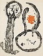 JOAN MIRÓ, (SPANISH, 1893-1983), UNTITLED PLATE 9 FROM