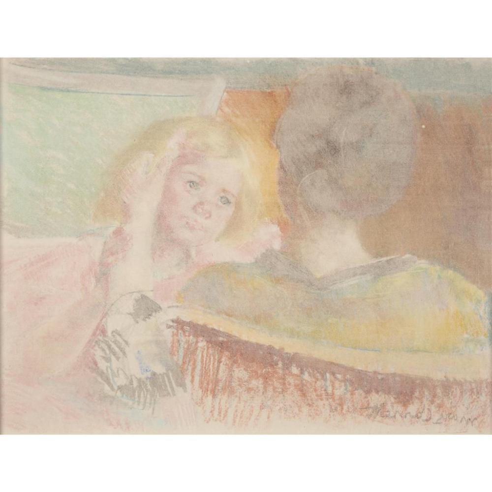The Counterproofs of Mary Cassatt Art in a Mirror