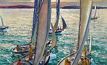 JONAS LIE, (AMERICAN/NORWEGIAN 1880-1940),