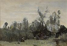 JEAN-BAPTISTE-CAMILLE COROT, (FRENCH 1796-1875),