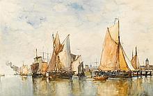 PAUL JEAN CLAYS, (BELGIAN 1819-1900),