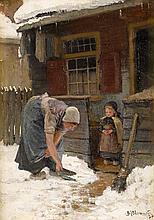 BERNARDUS JOHANNES BLOMMERS, (DUTCH 1845-1914),