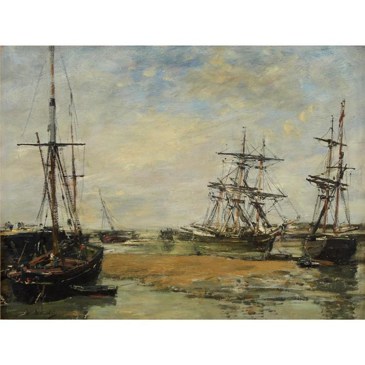 EUGÈNE BOUDIN, (FRENCH 1824-1898),